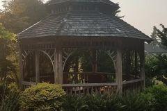 Before: Gazebo with Cedar Shake Roof Installation in Enumclaw, WA