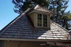 Before: Home with Cedar Shake Roof Installation in Bonney Lake, WA