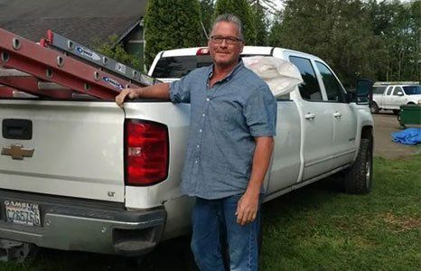Roofer in Enumclaw, WA by company truck: Bruce's Roofing