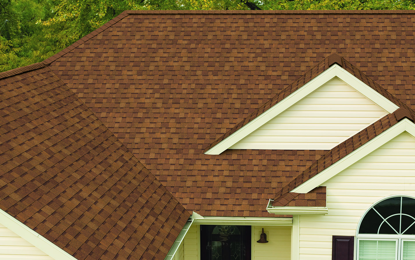 Composition Roof Installation in Auburn, WA, in Light Brown